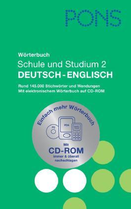 PONS Wörterbuch für Schule und Studium Englisch