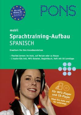 PONS mobil Sprachtraining Aufbau Spanisch