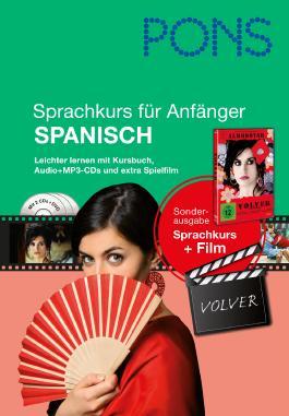 PONS Sprachkurs für Anfänger Spanisch, m. 2 MP3-CDs