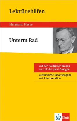 "Lektürehilfen Herrmann Hesse ""Unterm Rad"""