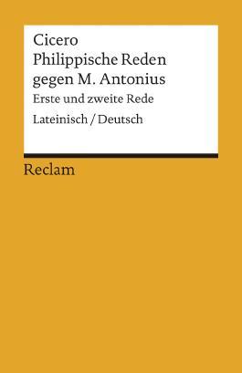 Philippische Reden gegen M. Antonius