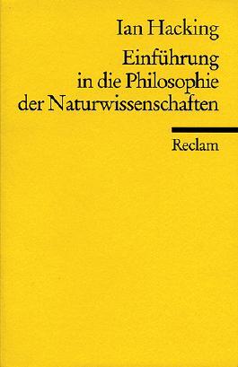 Einführung in die Philosophie der Naturwissenschaften