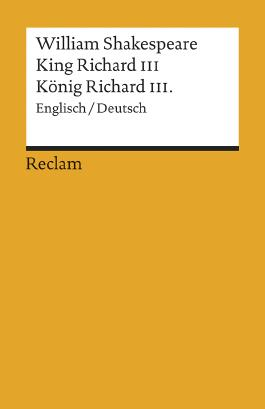 King Richard III. /König Richard III.