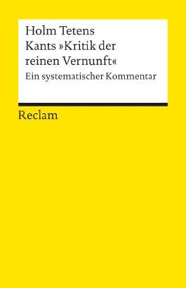 """Kants """"Kritik der reinen Vernunft"""""""