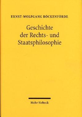 Geschichte der Rechts- und Staatsphilosophie