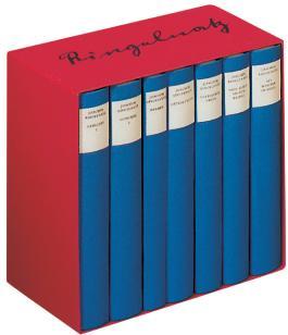 Das Gesamtwerk in sieben Bänden in Kassette