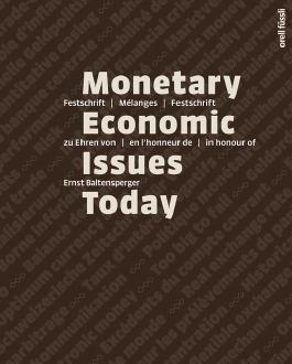 Monetary Economic Issues Today
