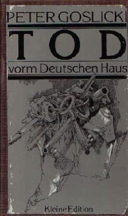 Tod vorm Deutschen Haus. Roman