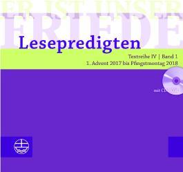 Er ist unser Friede. Lesepredigten Textreihe IV/Bd. 1 – Broschur + CD