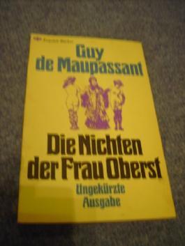Die Nichten der Frau Oberst (Erotische Literaur) (Ungekürzte Ausgabe)