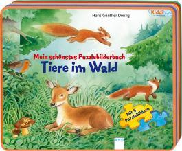 Mein schönstes Puzzlebilderbuch - Tiere im Wald