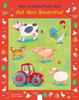 Mein schönstes Puzzle-Buch. Auf dem Bauernhof