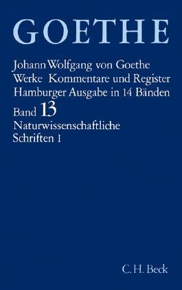 Naturwissenschaftliche Schriften. Tl.1