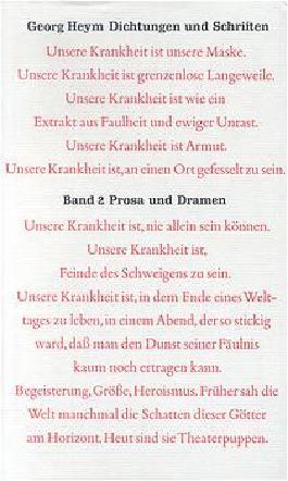 Dichtung und Schriften Bd. 2: Prosa und Dramen