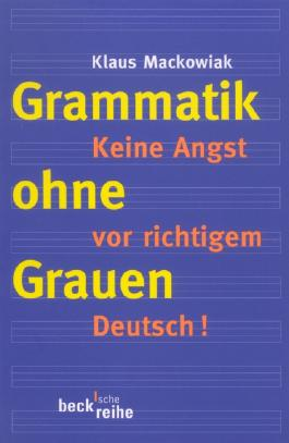 Grammatik ohne Grauen