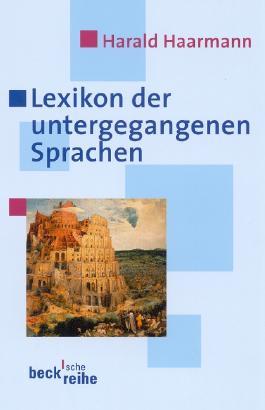 Lexikon der untergegangenen Sprachen