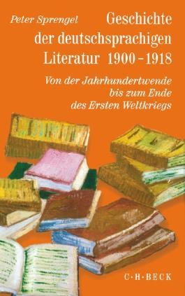 Geschichte der deutschen Literatur Bd. 9/2: Geschichte der deutschsprachigen Literatur 1900-1918