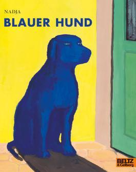 Blauer Hund