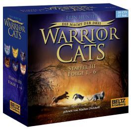 Warrior Cats - Die Macht der drei. Folge 1-6