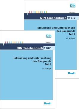 DIN-Taschenbuch 113/1 und 113/2