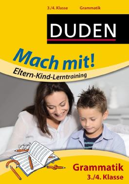 Mach mit! Eltern-Kind-Lerntraining - Grammatik 3./4. Klasse