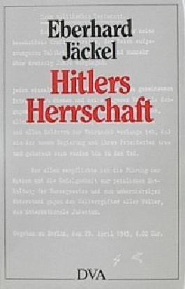 Hitlers Herrschaft