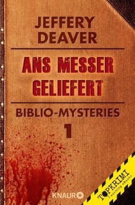 Ans Messer geliefert: Biblio-Mysteries 1