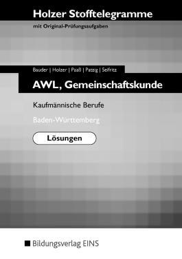 Stofftelegramme AWL, Gemeinschaftskunde,
