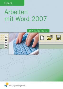 Arbeiten mit Word 2007