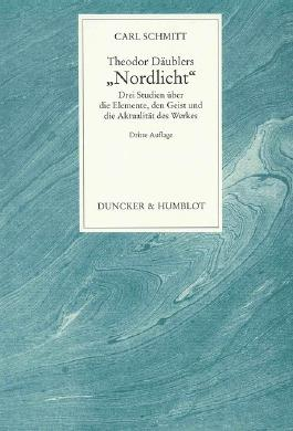 "Theodor Däublers ""Nordlicht""."