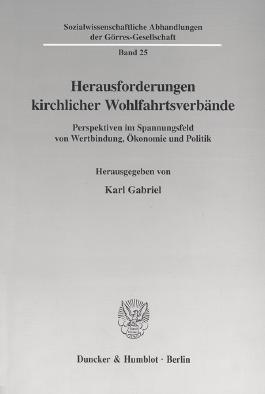 Herausforderungen kirchlicher Wohlfahrtsverbände.