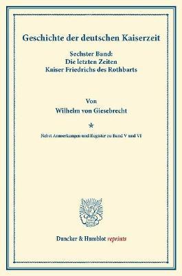Geschichte der deutschen Kaiserzeit.