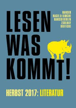 Lesen, was kommt!: Herbst 2017
