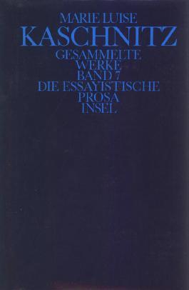 Gesammelte Werke in sieben Bänden