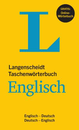 Langenscheidt Taschenwörterbuch Englisch - Buch mit Online-Anbindung