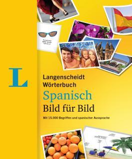 Langenscheidt Wörterbuch Spanisch Bild für Bild - Bildwörterbuch