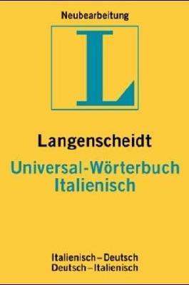 Langenscheidt Universal-Wörterbuch Italienisch