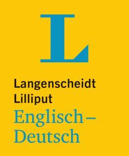 Langenscheidt Lilliput Englisch-Deutsch