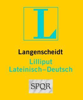 Langenscheidt Lilliput Lateinisch