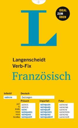 Langenscheidt Verb-Fix Französisch - Verb-Fix
