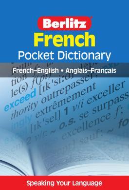 Berlitz Pocket Dictionary French