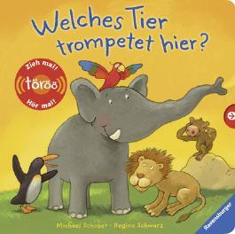 Welches Tier trompetet hier?