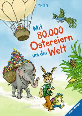Mit 80.000 Ostereiern um die Welt