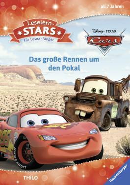 Leselernstars Disney Cars: Das große Rennen um den Pokal