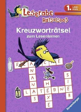 Kreuzworträtsel zum Lesenlernen (1. Lesestufe), lila