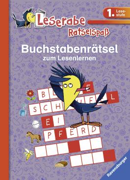 Buchstabenrätsel zum Lesenlernen (1. Lesestufe)