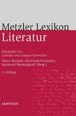 Metzler Lexikon Literatur