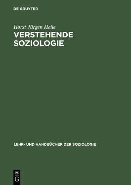 Verstehende Soziologie