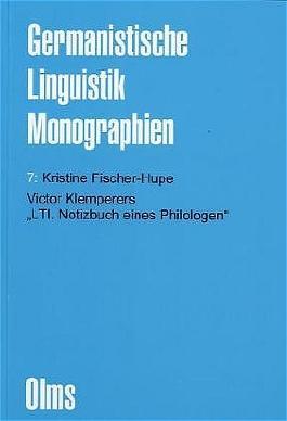 """Victor Klemperers """"LTI. Notizbuch eines Philologen"""""""