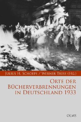 Orte der Bücherverbrennungen in Deutschland 1933